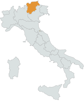 Real properties for sale in TrentinoAlto Adige